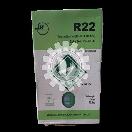 JH Refrigerant R-22 (13.6 Kgs / Jug)