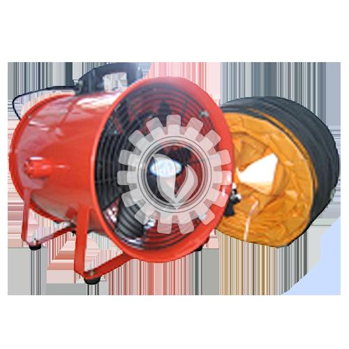 MVS 12″ Ventilator c/w 5m Hose
