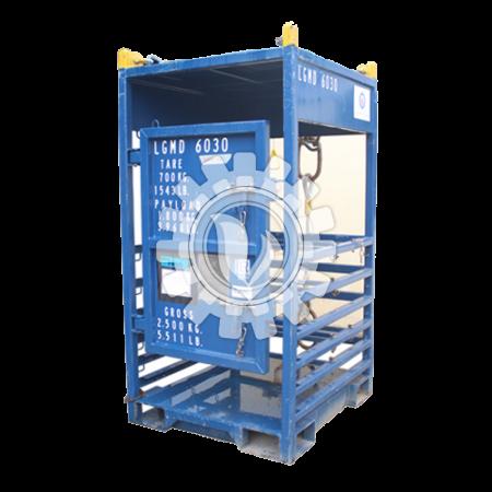 Standard Gas Rack DNV 2.7-1 (127x115x228.5 cm)