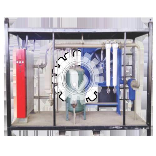 Refrigerent (441 & 990 cfm) Heatless Desiccant (550 & 1100 cfm) Air Dryer Set C/W Aftercooler