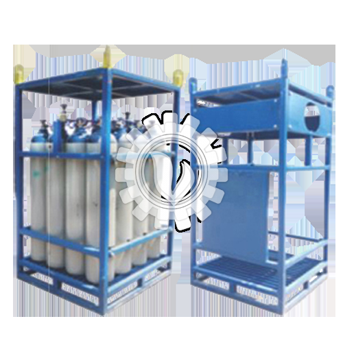 Industrial, Purified, Special & Refrigerant Gas; Gas Cylinder/Rack
