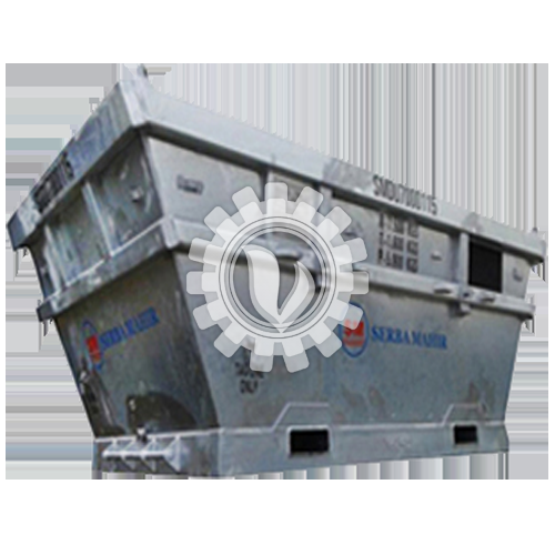Boat Shaped Waste Skip DNV 2.7-1/BS EN 12079:2006
