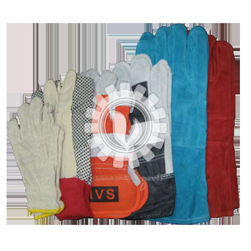Hand Gloves (Cotton Glove B104, Pokka Dot Glove 214SP, Semi Leather Glove 891GT, Welding Glove 900GT)