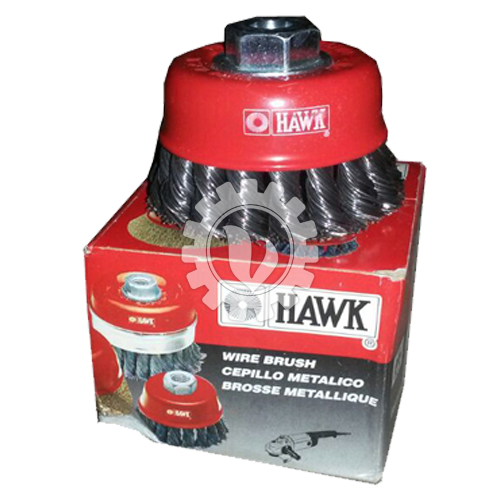 Cup Brush Knotted HAWK